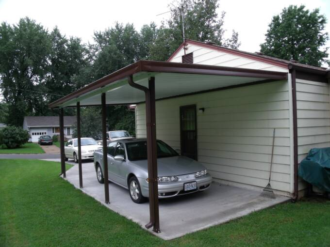Home Made Metal Carports : Carports kits do it yourself inspirational pixelmari