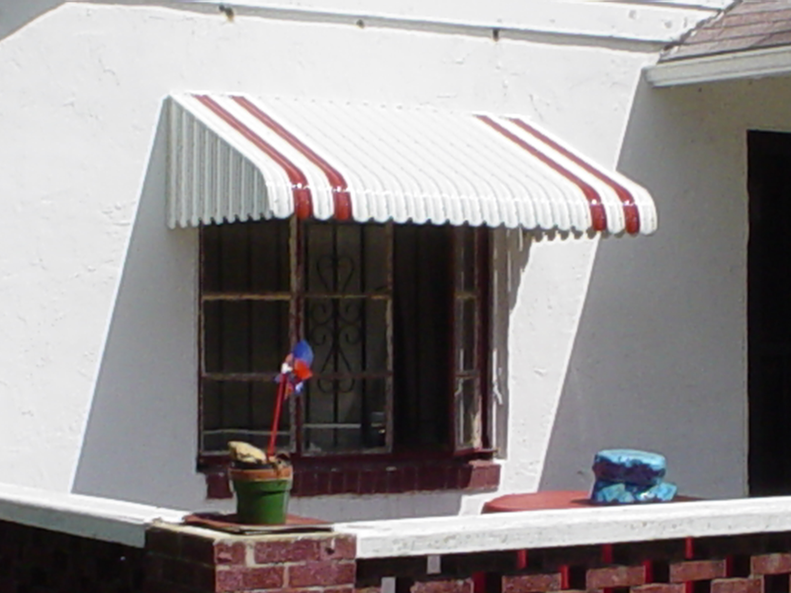 Aluminum Awnings For Windows And Doors